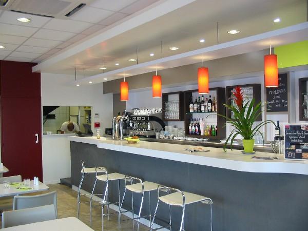 Comptoir café barrière du Médoc